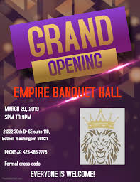 Fancy Flyers Copy Of Fancy Grand Opening Flyer Template Made With