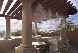Misting Cooling Systems For Palm Springs And Palm DesertBackyard Misting Systems