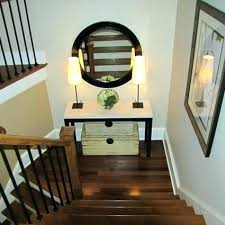 stair landing decor stairway decorating ideas best about on hallway stairs