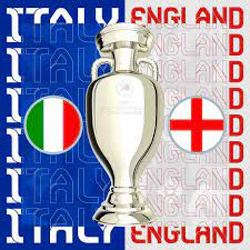 """UEFA EURO 2020 on Twitter: """"😎 The EURO 2020 final is set!  🇮🇹🆚🏴 Italy versus England at Wembley Stadium on Sunday 🔥  Who is lifting the 🏆❓ #EURO2020… https://t.co/k5vJR1h6HX"""""""