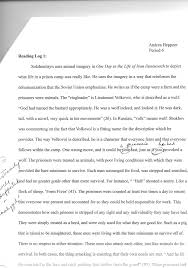 example of literature essay madrat co example of literature essay