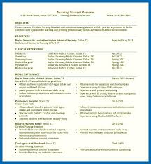 Free Nursing Resume Templates Nursing Student Resume Template Ef Bb ...