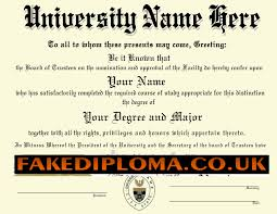 Fake Diploma Template Free Make A Fake Degree Certificate For Free Planner Template Free
