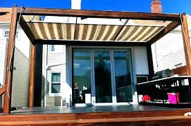 Deck Awning Ideas Canopy For