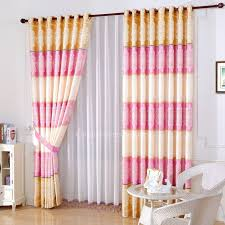 romantic pink and gold bedroom curtain chinese style peony fl pink and gold curtains jpg