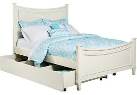 trundle beds twin jaclyn place ivory 4 pc bed w light wood 5