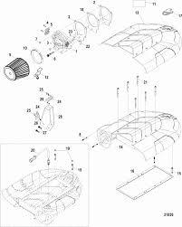 mercruiser stroker scorpion throttle body air plenum parts engine section