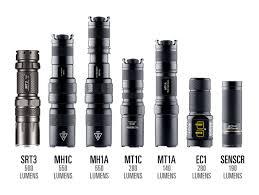 Nitecore Comparison Chart Flashlight Selection Guide Nitecore Singapore