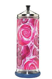 Barbicide Jar Decorative Amazon Salon Skins Decorative Barbicide Jar Wrap Rose Garden 29