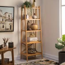 mid century modern bookshelf. Belham Living Darby Mid Century Modern Bookcase - Pecan Bookshelf