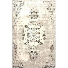 vintage rugs viscose area rug in ivory from beyond s pink nuloom traditional abstract blue b