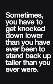 Rock Bottom Quotes Inspiration So True You Don't Really Start Looking Up Until You Hit Rock Bottom