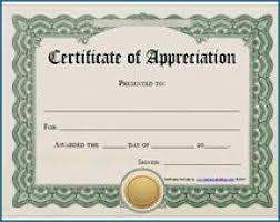 Free Editable Certificates Of Appreciation 332