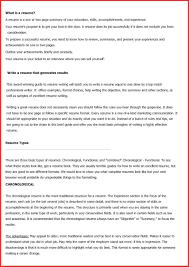 Different Different Types Of Resumes Examples Types Of Resumes