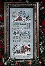 Christmas Tree Cross Stitch Chart Jingle Bells Xmas Tree Farm Cross Stitch Chart