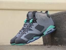 air jordan shoes for girls 2016. girls grade school air jordan retro 6 \u0027green glow\u0027 shoes for 2016 -