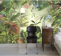 Rainforest Bedroom Animal Mural Picture More Detailed Picture About Large European