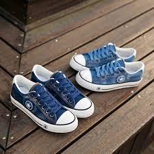 <b>2019 LAISUMK</b> Women Casual <b>Shoes</b> Canvas New Denim Trainers ...