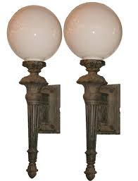 antique torch lamp sold monumental pair of antique exterior cast iron torch style sconces antique torchiere antique torch lamp