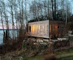 Small Picture Sunset Cabin in Canada by Taylor Smyth Architects Design Milk