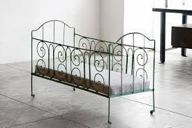 Antique Baby Cribs Sold Antique French Wrought Iron Baby Crib Rehab Vintage Interiors