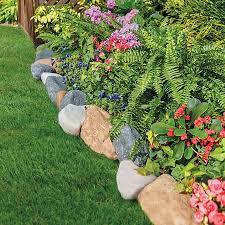 garden edging stone. Faux Stone Landscape Edging-10\u0027 Garden Edging E