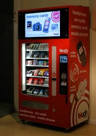 Gatwick Airport Sim Card Vending Machine
