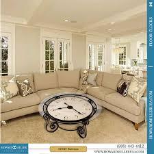 howard miller antique ravenna tail coffee table clock 615010 quartz