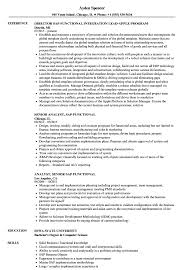 Sample Functionalume Template Job Samples Example Ate Students
