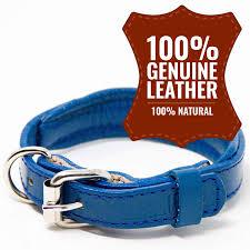 kninepal leather dog collar