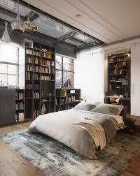 Bedroom Designs: Funky Modern Industrial Bedroom - Industrial Brick Wall  Bedroom