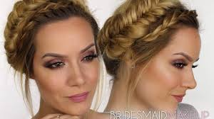 bridesmaid makeup tutorial rosy hues shonagh scott showme makeup