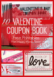10 valentines day coupon book printables coupon books a unique way to make valentine s day special this is a fun gift