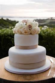 10 Simple And Elegant 2 Tier Wedding Cakes Photo Simple Two Tier