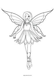 Fairy Images To Colour Fairy Colouring Pages 4 Fairy Colouring