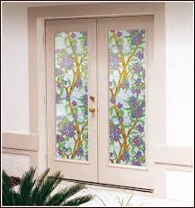 window stained glass privacy static cling world arch window stained glass