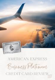 American Express Business Platinum Credit Card Review The Blonde