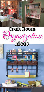 great diy craftroom organization ideas get your craft room sewing room sbooking room