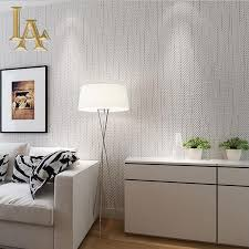 Modern Wallpaper For Living Room Aliexpresscom Buy Simple Solid Color Striped Textured Wallpaper