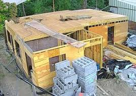 Entire office decked Globe Second Storey Deck Complete Ready To Frame The Garage And Office Front Entrance Are The Enclosure All Decked Out The Enclosure