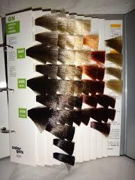 Redken Shades Color Gels Chart Redken Chromatics Color Swatches Redken Color Gels