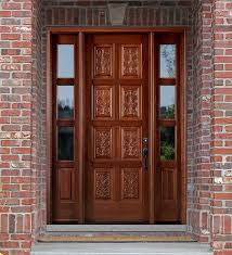 prefinished entry doors. carved exterior doors with panels prefinished entry b