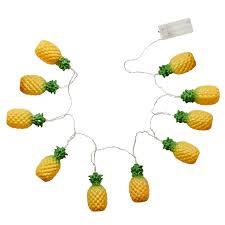 Pineapple Light Pineapple Led String Of Lights By Rice Dk