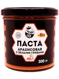 <b>Арахисовая паста</b> с Белыми грибами (300гр) <b>RoyalNut</b> 10964484 ...