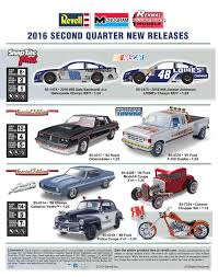 new model car kit releases2016 Revell Second Quater New Releases  ScaledWorld
