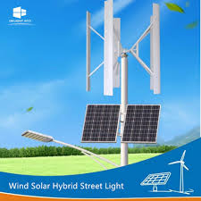 Delight Solar Light Price Hot Item Delight Vawt Maglev Wind Generator Solar Energy Led Street Lamp