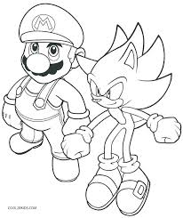 Mario Coloring Pages Online Luxury Mario And Sonic Olympic Games