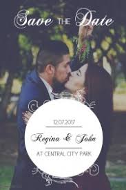 600 Customizable Design Templates For Save The Date Postermywall