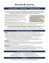 Sample Of Executive Resumes Executive Resume Samples By Award Winning Writer Laura Smith