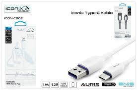 İconix Type-C USB ve Şarj Kablosu İCON-CB02 » Cep99.com